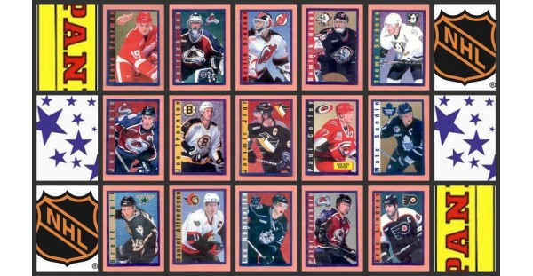 2000 Panini NHL Hockey Stickers Complete Set of 212 Oliwa Johnson Rookie