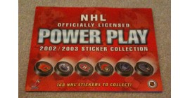 2002 Power Play Canada Exclusive NHL Sticker Album