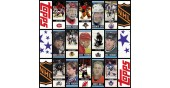 2003 Topps NHL Hockey Stickers Complete Set of 218 Kovalchuk Zetterberg Theodore Rookie