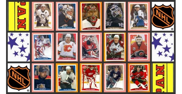 2006 Panini NHL Hockey Stickers Complete Set of 360 Cam Ward Derek Roy Rookie