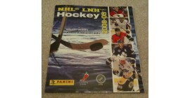 2008 Panini NHL Hockey Sticker Album Washington Capitals Cover