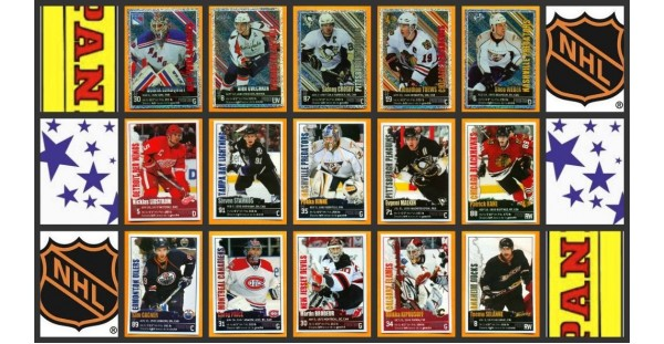 2009 Panini NHL Hockey Stickers Set of 364 E Karlsson Tavares Duchene Rookie