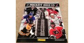 2012 Panini NHL Hockey USA Sticker Album Jonathan Quick Cover