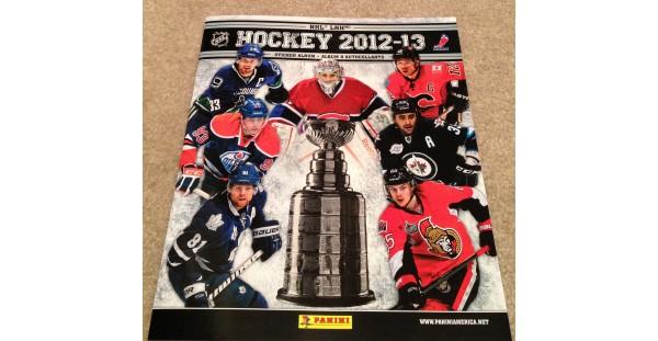 2012 Panini NHL Hockey CANADA Sticker Album Carey Price Cover