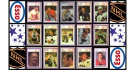 1970 Esso Power Play NHL Hockey Stickers Stamps Complete Set of 252