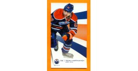 2012-13 Edmonton Oilers Team Issue Limited Edition Teemu Hartikainen Card