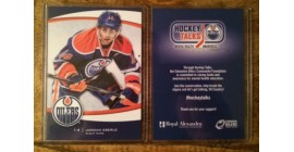2013-14 Edmonton Oilers Team Issue Limited Edition Jordan Eberle Card