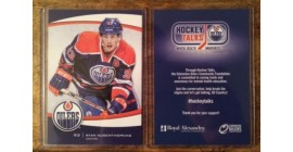 2013-14 Edmonton Oilers Team Issue Limited Edition Ryan Nugent-Hopkins Card