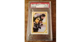 PSA 8- 1985 RC O-Pee-Chee #97 Sticker Pittsburgh