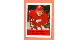 1974 Loblaws #91- Red Wings Thommie Bergman (4)