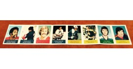 1974 Sealed with Coupon Panel of 8 Acme Loblaws NHL Action Players