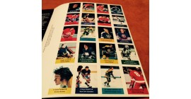 1974 Short Print Panel of 20 Acme Loblaws NHL Action Players