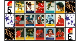 1974 Loblaws Acme NHL Action Stars Stickers Stamps Set of 324 (Not in panels, 324 loose pieces)
