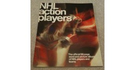 1974 Loblaws Acme NHL Action Stars Sticker Album (with Special Print Sheet in the back of album)