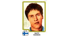 1979 PANINI #172-Matti Hagman
