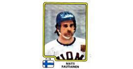 1979 PANINI #179-Matti Rautiainen