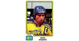 1979 PANINI #196-Mats Ahlberg