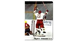 1979 PANINI #226- Poland Romania. 8-6