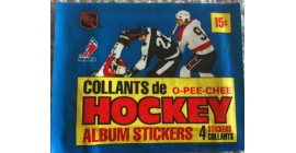 1981 O-Pee-Chee EMPTY (No stickers inside) NHL sticker pack