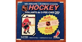 1985 O-Pee-Chee Version 4 Unopened (with 5 stickers inside) NHL sticker pack