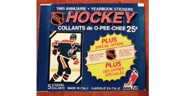 1985 O-Pee-Chee Version 1 EMPTY (No stickers inside) NHL sticker pack