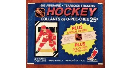 1985 O-Pee-Chee Version 3 EMPTY (No stickers inside) NHL sticker pack