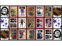1986 O-Pee-Chee NHL Hockey Sticker Complete Set of 252 Patrick Roy Wendel Clark Rookie
