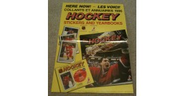 1986 6th Year O-Pee-Chee NHL Sticker Case Topper Poster