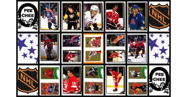 1987 O-Pee-Chee NHL Hockey Sticker Complete Set of 255 Luc Robitaille Ron Hextall Rookie