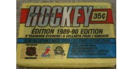 1989 O-Pee-Chee EMPTY (No stickers inside) NHL sticker pack