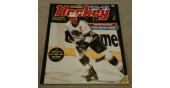 1990 Panini NHL Hockey Sticker Album Wayne Gretzky Cover