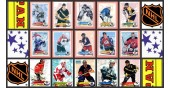 1995 Panini NHL Hockey Stickers Complete Set of 306 Forsberg Kariya Rookie