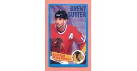 1996 PANINI #165-Brent Sutter