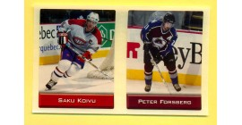 2003 Sports Vault Top Up To 600 Pieces #183-Peter Forsberg