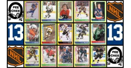 2013 O-Pee-Chee NHL Hockey Sticker Insert Complete Set of 100