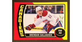 2014 O-Pee-Chee #87- Brendan Gallagher