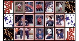 1982 TOPPS NHL Hockey Sticker Complete Set of 263 Ron Francis Grant Fuhr Rookie