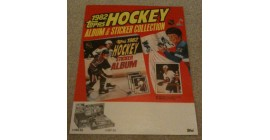 1982 Topps NHL Sticker Promo Mini Store Display Poster