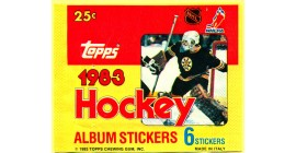 1983 Topps EMPTY (No stickers inside) NHL sticker pack