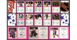 1983 TOPPS NHL Hockey Sticker Complete Set of 330 Pelle Lindbergh Rookie