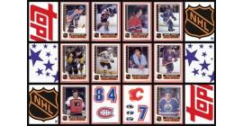 1986 Topps NHL Hockey Master Sticker Set of 40