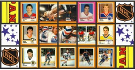 1987 Panini First Year NHL Hockey Stickers Set of 396 Robitaille Ranford Rookie