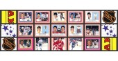 1988 Panini NHL Hockey Stickers Complete Set of 408 Hull Leetch Shanahan Rookie