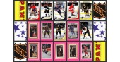 1989 Panini 3rd Year NHL Hockey Stickers Set of 384 Sakic Linden Granato Rookie