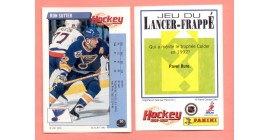 1992 PANINI French #20-Ron Sutter