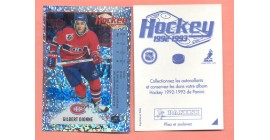 1992 PANINI French #M-Gilbert Dionne