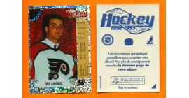 1992 PANINI French #P-Eric Lindros