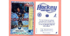 1992 PANINI French #U-Donald Audette