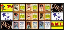 1992 French Panini NHL Hockey Stickers Complete Set of 330 Lidstrom Lindros Bure Rookie