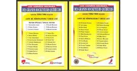 1993 PANINI Durivage #51- Checklist
